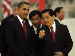 Raw Video: Obama Meets With Chinese Premier