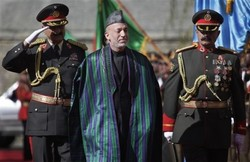 Karzai Sworn in for 2nd Term