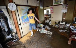 Casualties as Heavy Rains Hit Japan