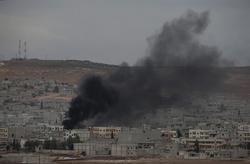 Kobani Under Shelling