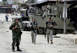 Lebanese Army Fights ISIS in Tripol