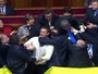 Violence Erupts In Ukraine Parliament