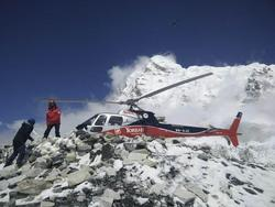 Avalanche Hits Everest Base Camp