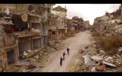 Shocking Drone Footage Shows Destru