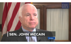 McCain Gives Obama an 'F' on Foreig