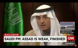 Saudi Foreign Minister: Bashar al-A