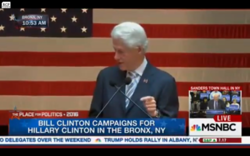 Bill Clinton: You Can't Help the Pa