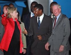 Hillary Clinton Speaks in Africa