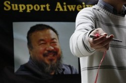 All Eyes on Chinese Activist Ai Wei